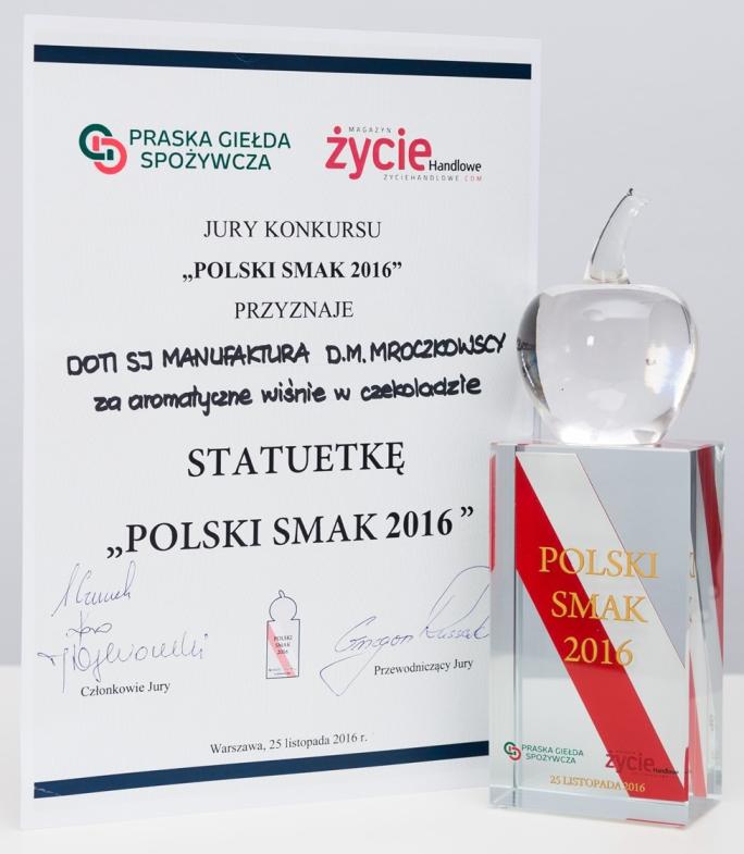 Nagroda POLSKI SMAK 2016
