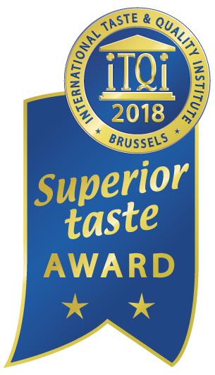 Superior Taste Award ** 2018