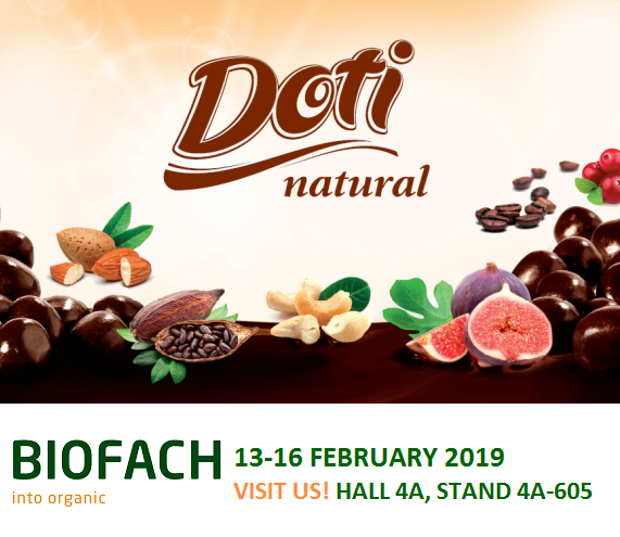 BIOFACH 2019 Hall 4A, STAND 4A-605
