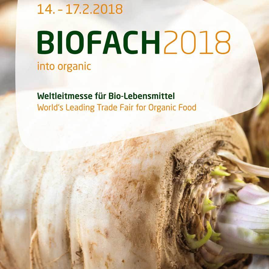 We invite you to the Biofach Trade Fair