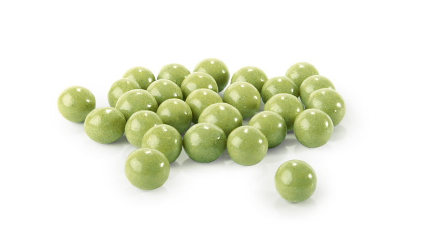 Novelty: Intriguing Green Chocoballs