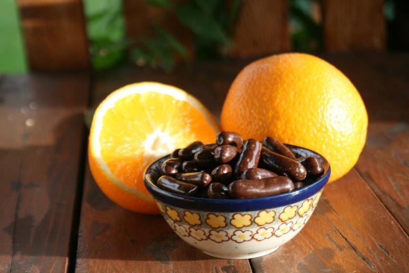 Skórka pomarańczowa w czekoladzie Doti Manufaktura smak listopada
