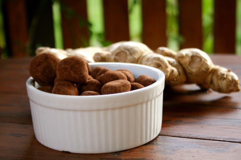 Imbir w Czekoladzie i Kakao - Smak Listopada
