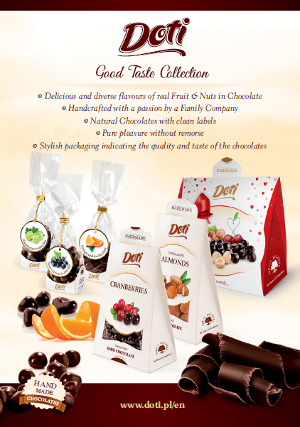 Doti chocolates whole range EN
