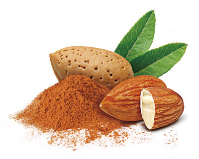 Almonds in white chocolate with cinnamon 100g