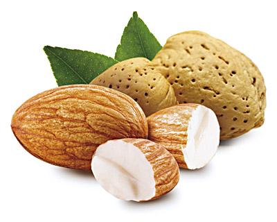 Migdały w białej czekoladzie - luzy 2 kg