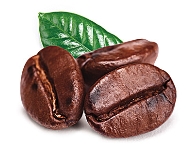 Coffee beans in milk chocolate with a pinch of orange 50g