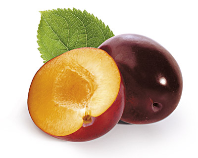 Plums in Chocolate 100g GIFT BAG