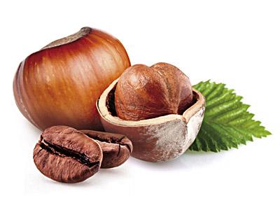 Hazelnuts in Milk Chocolate with Coffee - bulk 2kg