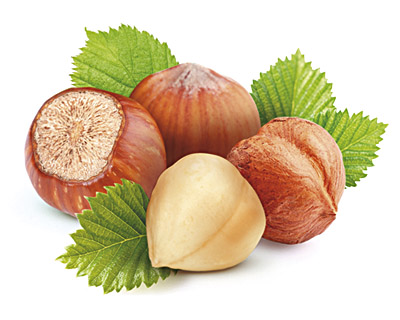 Hazelnuts in mixed chocolate - bulk 2kg