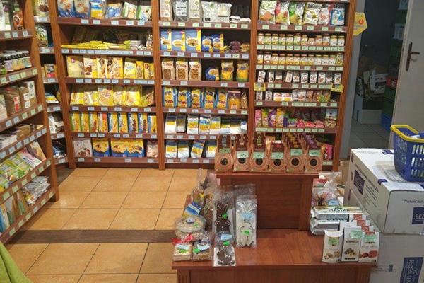 Sklep z żywnością ekologiczną